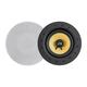 Monoprice Caliber 60-Watt Powered 6.5in Ceiling Speakers, Fiber 2-way with Bluetooth