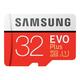 Samsung 32GB EVO Plus MicroSDHC Card with SD Adapter