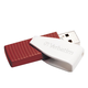 Verbatim 16GB Swivel USB Flash Drive - Red - 16 GB - Red - 1 Pack - Capless, Swivel""