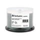 Verbatim DVD+R DL 8.5GB 8X DataLifePlus White InkJet Printable, Hub Printable - 50pk Spindle - 120mm - Printable - Inkjet Printable