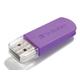 Verbatim 32GB Mini USB Flash Drive - Violet - 32 GB - Violet - 1 Pack