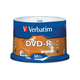 Verbatim AZO DVD-R 4.7GB 16X with Branded Surface - 50pk Spindle - 2 Hour Maximum Recording Time