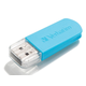 Verbatim 16GB Mini USB Flash Drive - Blue - 16 GB - Caribbean Blue - 1 Pack
