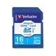 Verbatim 16GB Premium SDHC Memory Card, UHS-I Class 10 - Class 10 - 1 Card/1 Pack - 133x Memory Speed