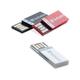 "Verbatim 8GB Clip-It USB Flash Drive - 3pk - Black, White, Red - 8 GB - Red, Black, White - 3 Pack"""