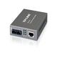 "TP-LINK MC110CS Media Converter, 10/100Mbps RJ45 to 100M single-mode SC fiber, up to 1.2miles, chassis mountable - 1 x Network (RJ-45) - 10/100Base-TX, 100Base-FX - External"""