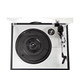 PylePro Multifunction Turntable With MP3 Recording, USB-to-PC, Cassette Playback, Rechargeable Battery - Belt Drive - 33.33, 45, 78 rpm