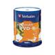 Verbatim DVD-R 4.7GB 16X White Inkjet Printable - 100pk Spindle - TAA Compliant - DVD-R 16X White Inkjet Printable - 4.70 GB - 100pk Spindle