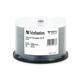 Verbatim MediDisc CD-R 700MB 52X White Thermal Printable with Branded Hub - 50pk Spindle - Thermal Printable