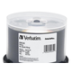 Verbatim DVD-R 4.7GB 8X DataLifePlus Shiny Silver Silk Screen Printable - 50pk Spindle - TAA Compliant - 4.7GB - 50 Pack