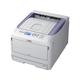 Oki C800 C831N LED Printer - Color - 1200 x 600 dpi Print - Plain Paper Print - Desktop - 35 ppm Mono / 35 ppm Color Print - 400 sheets Standard Input Capacity - 75000 pages per month - LCD - Ethernet