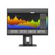 """HP Business Z24nf 23.8"""" LED LCD Monitor - 16:9 - 8 ms - 1920 x 1080 - 16.7 Million Colors - 250 Nit - 5,000,000:1 - Full HD - DVI - HDMI - DisplayPort - USB - 70 W - Black"""