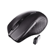 Cherry Nano Wireless Mouse - Infrared - Wireless - Radio Frequency - Black - USB - 1750 dpi - Right-handed Only