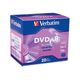 Verbatim AZO DVD+R 4.7GB 16X with Branded Surface - 20pk Slim Case - TAA Compliant - 2 Hour Maximum Recording Time