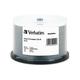 Verbatim CD-R 700MB 52X DataLifePlus White Inkjet Printable - 50pk Spindle - 50pk Spindle