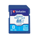 Verbatim 8GB Premium SDHC Memory Card, UHS-I Class 10 - TAA Compliant - Class 10 - 1 Card/1 Pack - 133x Memory Speed
