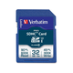 Verbatim 32GB Pro 600X SDHC Memory Card, UHS-1 U3 Class 10 - TAA Compliant - Class 10/UHS-I - 1 Card - 600x Memory Speed