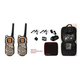 Motorola MS355 2 way Radio special Bundle – 35 Mil / Waterproof & Float W/ Free Carrying Case & 2 Surveillance Headsets