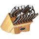 Cuisinart Normandy 19 Piece Cutlery Block Set, Stainless Steel