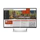"""HP N270c - LED monitor - curved - Full HD (1080p) - 27"""" - Y6J31A8#ABA"""