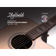 Monoprice Idyllwild Phosphorus Bronze Acoustic Guitar String Set Made in America Light (.010-.048)