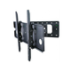 Monoprice Titan Series Corner Friendly Full Motion Wall Mount for Large 32- 60 inch TVs 125lbs Black (Open Box)