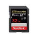 SanDisk Extreme Pro 32GB SDHC UHS-I Card (SDSDXXG-032G-GN4IN)