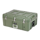 Pure Outdoor by Monoprice Stackable Rotomolded Weatherproof Case with Customizable Foam, 28 x 19 x 13 inches, Green