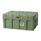 Pure Outdoor by Monoprice Stackable Rotomolded Weatherproof Case, 44 x 28 x 21 inches, Green