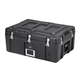 Pure Outdoor by Monoprice Stackable Rotomolded Weatherproof Case with Customizable Foam, 28 x 19 x 13 inches, Black