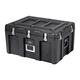 Pure Outdoor by Monoprice Stackable Rotomolded Weatherproof Case with Customizable Foam, 29 x 21 x 16 inches, Black