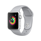 Apple Watch Series 3 GPS, 42mm Silver Aluminum Case with Fog Sport Band