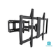 Monoprice Essentials Full-Motion Articulating TV Wall Mount Bracket - TVs 60in to 100in, Max Weight 176lbs, Extends from 2.8in to 24.6in, VESA Up to 600x900, Rotating , Concrete & Brick, UL Certified
