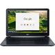"Acer CB3-532-C3F7-US Chromebook Intel Celeron N3060 (1.60 GHz) 2 GB LPDDR3 Memory 16 GB Flash SSD 15.6"" Chrome OS NX.GHJAA.007  (Recertified)"