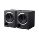 Monoprice 6.5in Powered Coaxial Studio Multimedia Monitor Speakers (pair) (Open Box)