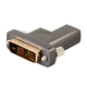 Monoprice SlimRun AV DVI Detachable Connector, for use with SlimRun AV Part- 33280, 33281, 33282, 33283, or 33284