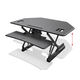 Workstream by Monoprice Full-Size Sit-Stand Workstation Converter, Corner Desk 42in
