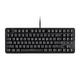 Workstream by Monoprice Brown Switch Tenkeyless Mechanical Keyboard, Black