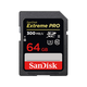 SanDisk 64GB Extreme PRO UHS-II SDXC Memory Card - SDSDXPK-064G-ANCIN 300/26