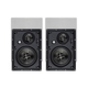 Monoprice Alpha In-Wall Speakers 6.5in Carbon Fiber 3-Way (pair)