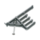 Arlington Low Voltage Cable Support Clip with Nail (CS14)