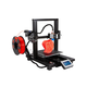 MP10 Mini 200x200mm 3D Printer, Magnetic Heated Build Plate, Resume Printing Function, Assisted Leveling, and Touchscreen