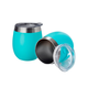 Pure Outdoor by Monoprice Wine Tumbler, Teal 9 fl. oz. Twin Pack