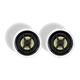 Monoprice Caliber Slim Bezel In-Ceiling Speakers, 6.5in Fiber 2-Way (pair)