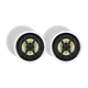 Monoprice Caliber Slim Bezel In-Ceiling Speakers, 8in Fiber 2-Way (pair)