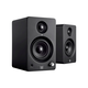 Monolith by Monoprice MM-3 Powered Multimedia Speakers with Bluetooth with aptX (Pair), Black