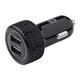 Monoprice 2-Port USB Car Charger, 4.8A Black (Open Box)