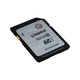 Kingston 32 GB SDHC - Class 10/UHS-I - 45 MB/s Read - 10 MB/s Write1 Pack (Open Box)