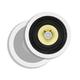 Monoprice Caliber In-Ceiling Speakers, 6.5in Fiber 2-Way (pair) (Open Box)