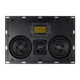 Monoprice Amber In-Wall Speaker Center Channel Dual 5.25-inch 3-way Carbon Fiber with Ribbon Tweeter (single)(OpenBox)
